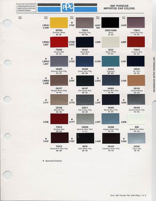 auto paint codes | Auto paint colors | Codes | Pinterest ...