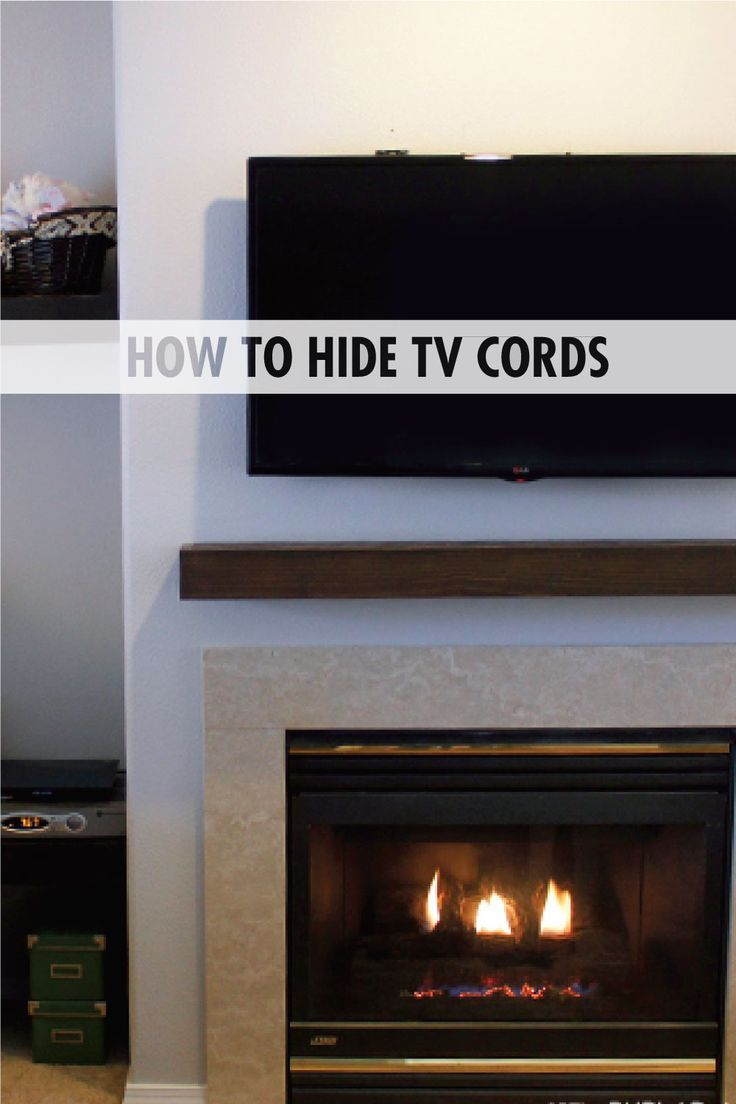how to hide tv cords tvs i did it and hide tv. Black Bedroom Furniture Sets. Home Design Ideas