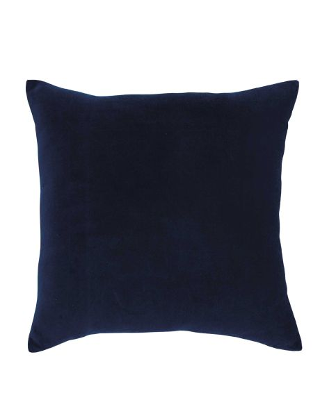 This classic, velour square cushion will add a touch of luxury to your bedroom decor.