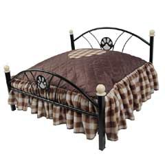 Buy Barkshire Wrought Iron Small Dog Bed at Guaranteed Cheapest Prices with Express & Free Delivery available now at PetPlanet.co.uk, the UKs #1 Online Pet Shop.