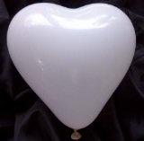50 große Herzluftballons, weiß -18820-