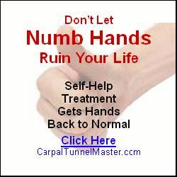 Click Here for More Info On Carpal Tunnel Master