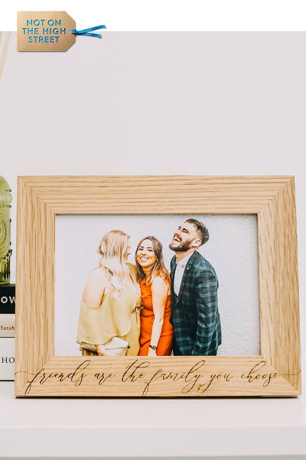 Friends Are The Family You Choose Friend Gift In 2018 Shelving