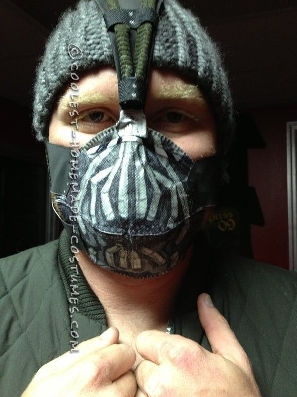 On-a-Whim Bane Costume... This website is the Pinterest of costumes
