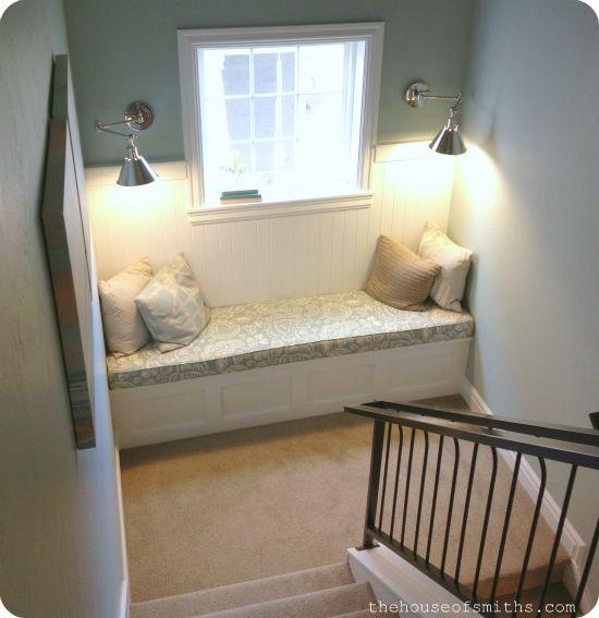 Stair Landing, Nooks And Reading Nooks On Pinterest