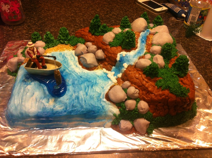 Hunting Cake Decor : 17 Best images about Cake Decorating~Fishing and Hunting ...