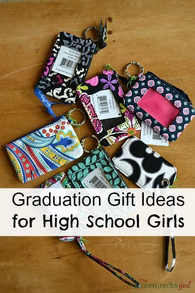 Graduation Gift Ideas for High School Girls. Would also be great for Christmas or birthdays.