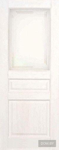 Межкомнатная дверь Поставский мебельный центр М5 ДОФ Белый воск в Минске - фото, цены в каталоге