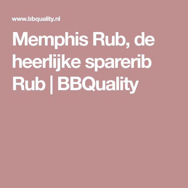 Memphis Rub, de heerlijke sparerib Rub | BBQuality