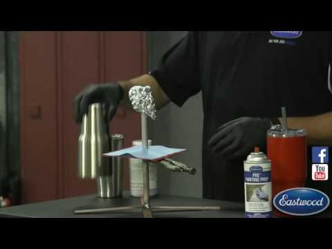 How to Powder Coat A Stainless Yeti Cup - Powder Coating Tips & Tricks - Eastwood - YouTube
