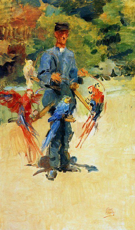 Gardien de zoo, Isaac Lazarus Israëls (February 3, 1865 – October 7, 1934) was a Dutch painter
