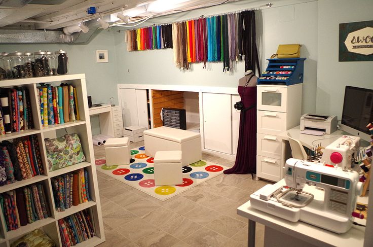 Setting Up A Sewing Room Uk