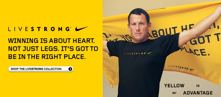 glad the US Feds found Lance not guilty. feel even better about buying more Livestrong gear.