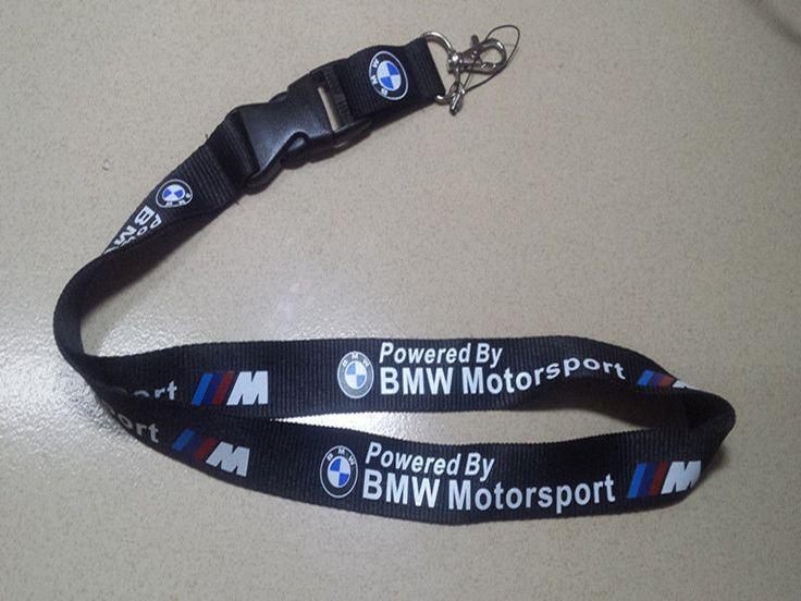 BMW CAR LANYARD NECK STRAP KEY CHAIN SILK HIGH QUALITY 22 Inch KEYRING | eBay