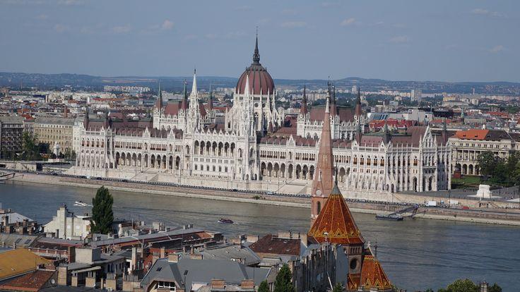 https://flic.kr/p/z7YMn2 | Hongrie : Budapest, rive Pest Parlement