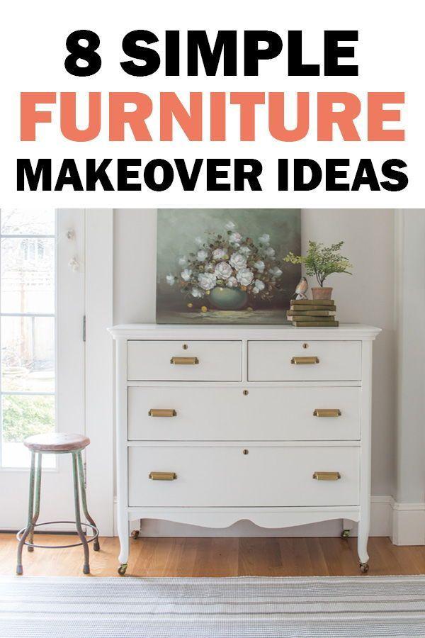8 diy makeover ideas for your dresser nightstand side table or rh pinterest com