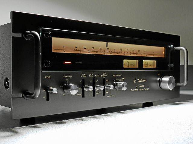 """Technics - ST 9600 ,Vintage Audiophile Stereo Tuner"" !... http://about.me/Samissomar"