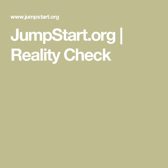 JumpStart.org | Reality Check