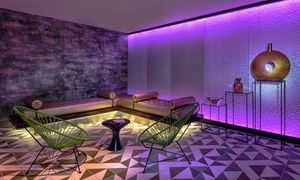 Groupon - Massage, Facial and Salt Cave Spa Day for One or Two at Spa at The LINQ Las Vegas (Up to 21% Off)  in The Strip. Groupon deal price: $225