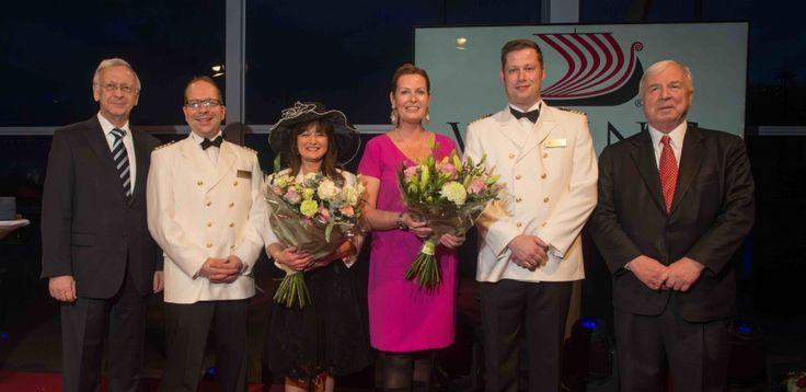 I festeggiamenti per i battesimi delle due nuove unità Viking River Cruises - Viking Hild e Viking Herja - si sono svolti alla confluenza dei fiumi Reno...