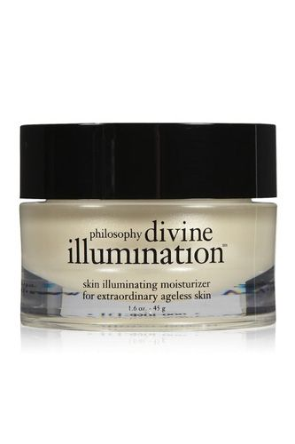 Eight Products that Give You Flawless, Totally In-Check Skin  #refinery29    This super-powered anti-aging moisturizer also has light diffusing particles to help enhance skin tone. Philosophy Divine Illumination Moisturizer, $85, available at BeautyBar.