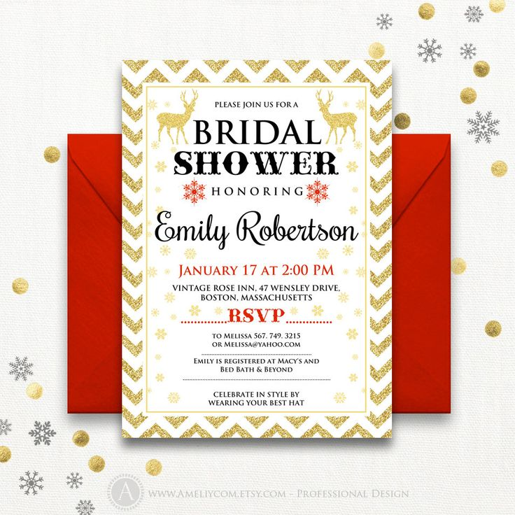 Best 25 Christmas Bridal Showers Ideas On Pinterest Bride Party