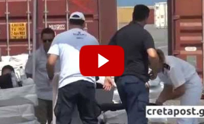 "VIDEO: Container with AID for ""refugees"" Caught FULL of Weapons and Ammunition"