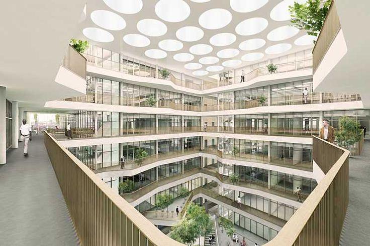 Biomedicum, Karolinska Instituttet  C.F. Møller
