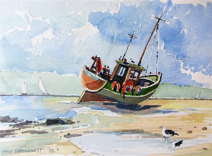 Low-tide, on exhibition now at Mad Fish, Cronin's Pub, Crosshaven