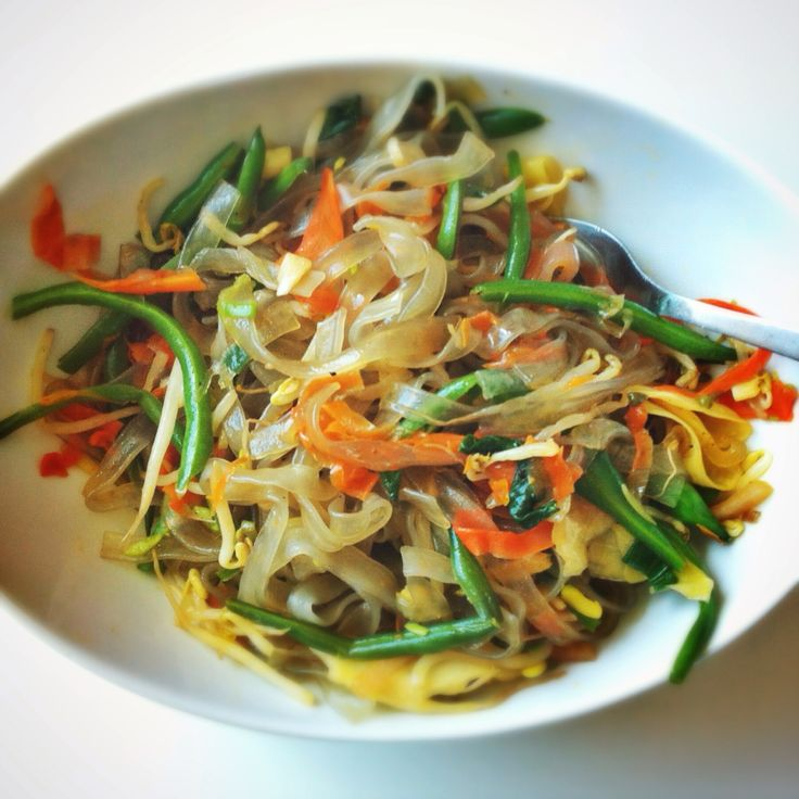 Japchae (Korean Stir-Fried Sweet Potato Noodles) Recipe — Dishmaps