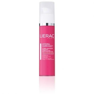 Un fluido morbido e ultra-fresco che regola a lungo l'idratazione, protegge, purifica e opacizza all'istante la pelle da normale a mista.