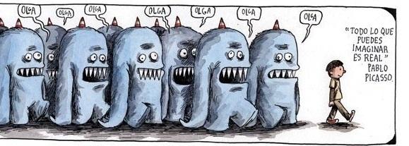Imaginación,,, Macanudo Liniers