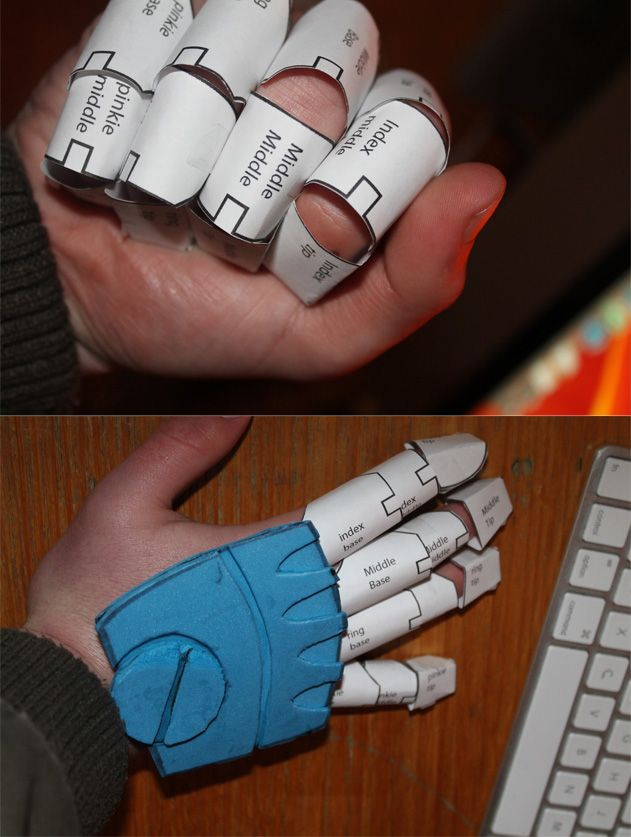 Automail - finger pattern by ~Splicer02 on deviantART