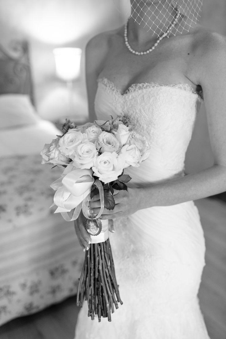 Gorgeous Doanre in a strapless Joss Bridal wedding dress created using silk chiffon and corded lace. joss@jossbridal.co.za