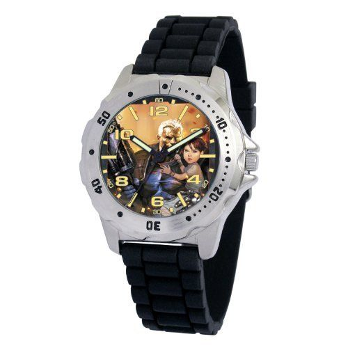Marvel Comics Men's MA0710-D15-BlackRubber Marvel 'Cable' Defender Watch Marvel Comics. $29.00. Save 17%!