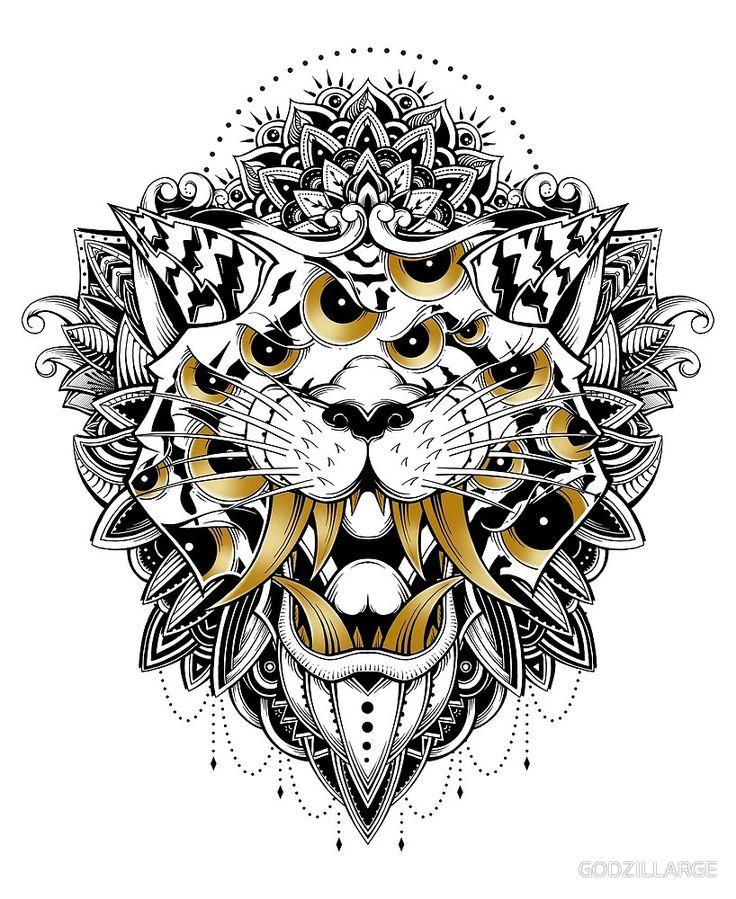 Gold Eyed Tiger