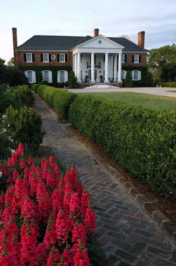 Boone Hall Plantation, Mount Pleasant, South Carolina. Ten miles from Charleston.