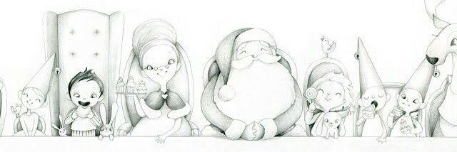Croquis de Noël