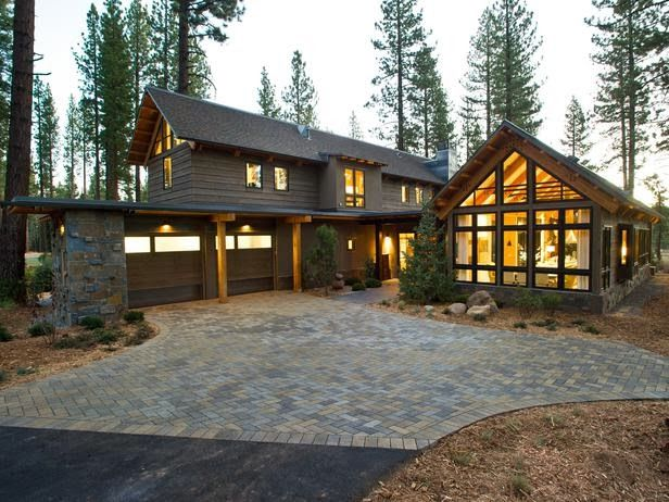 Best Modern Furniture Hgtv Dream Home 2014 Front Yard Pictures Mountain Home Exterior Hgtv 400 x 300