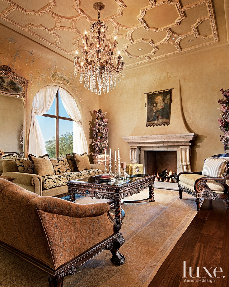 Beautiful Living Rooms: 17 Best Ideas About Tuscan Living Rooms On Pinterest