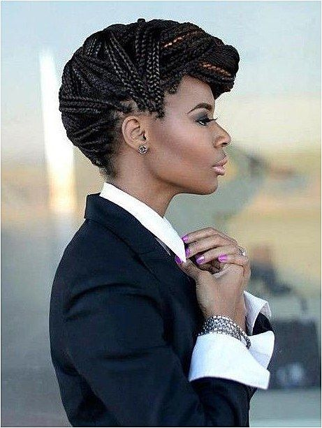box braid mohawk   (quick hairstyles boho) #BoxBraids click for more info..