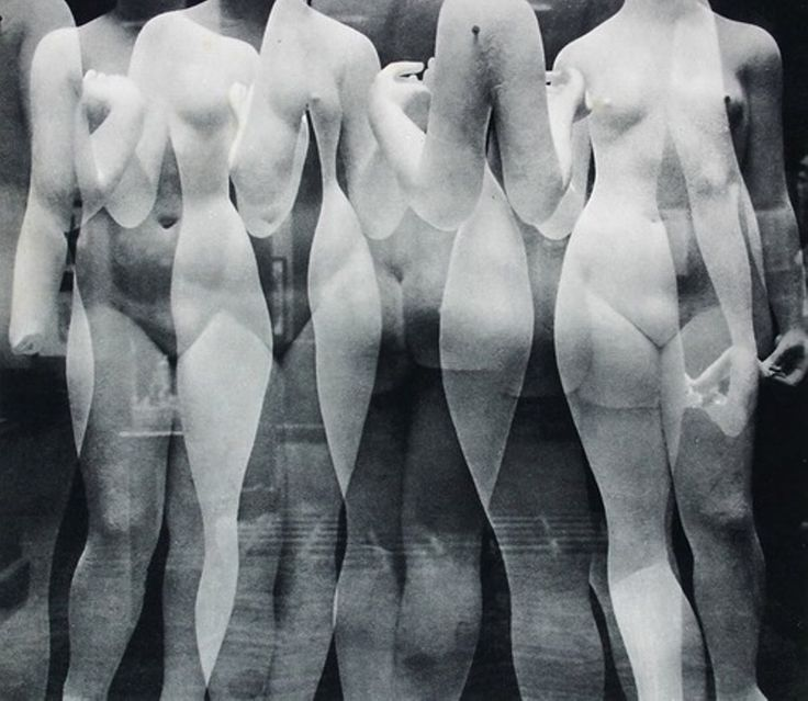 'Les Trois Grâces (In the studio of sculptor Aristide Maillol)' (1937) by German…