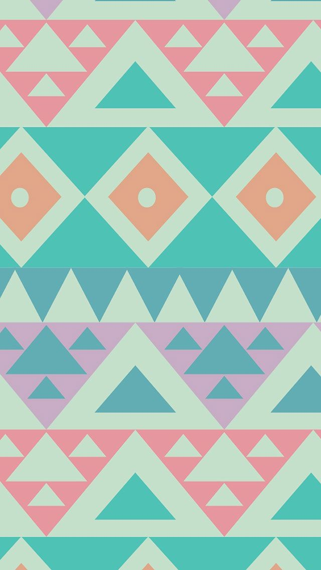 Simple Aztec Print Background