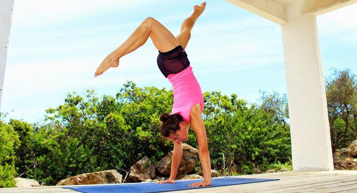 Elena Malova: Handstand tutorial - parada de manos paso a paso