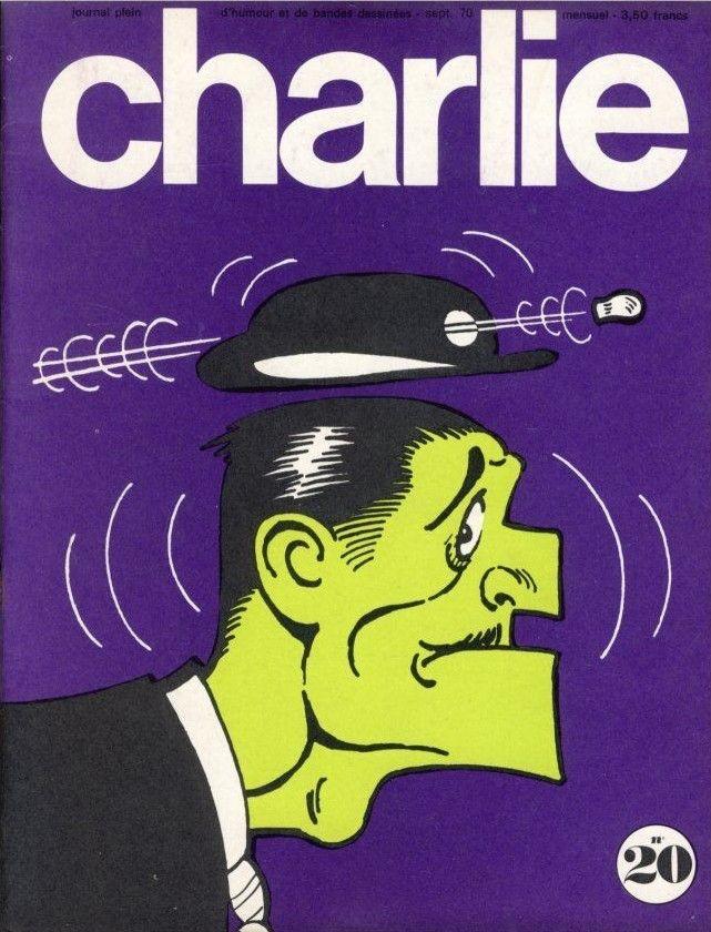Charlie Mensuel - # 20 - Septembre 1970 - Couverture de Capp