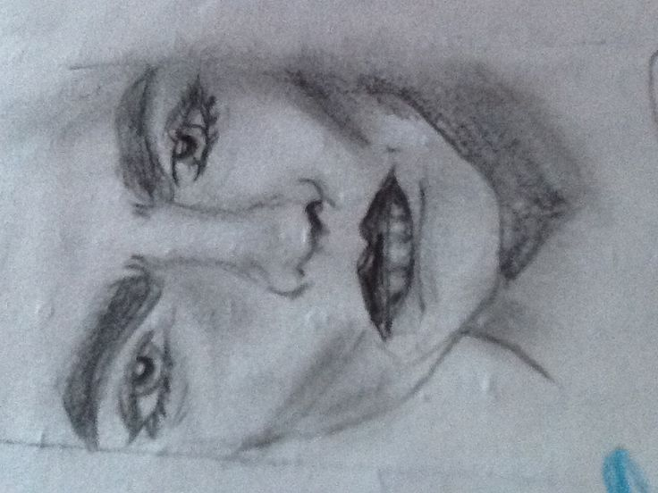 I drew this my self but it's originally suppose to be cara develinge