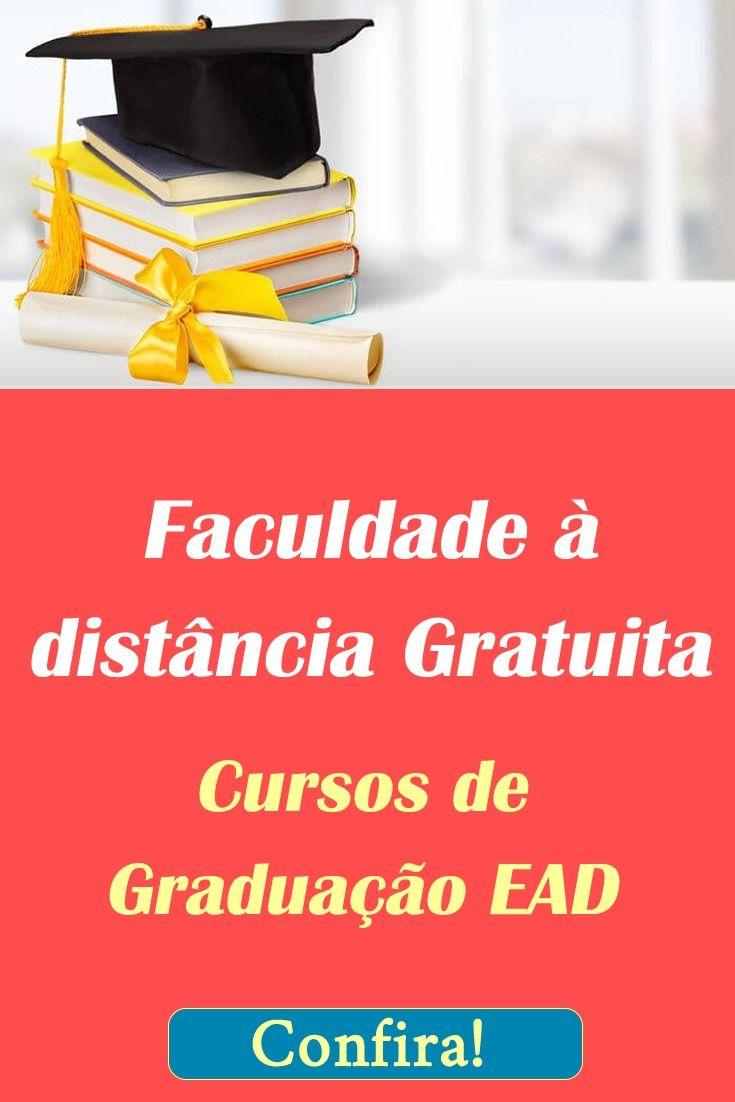 Faculdade A Distancia Gratuita Curso De Graduacao Cursos Online De Graca Cursos Gratuitos Com Certificado