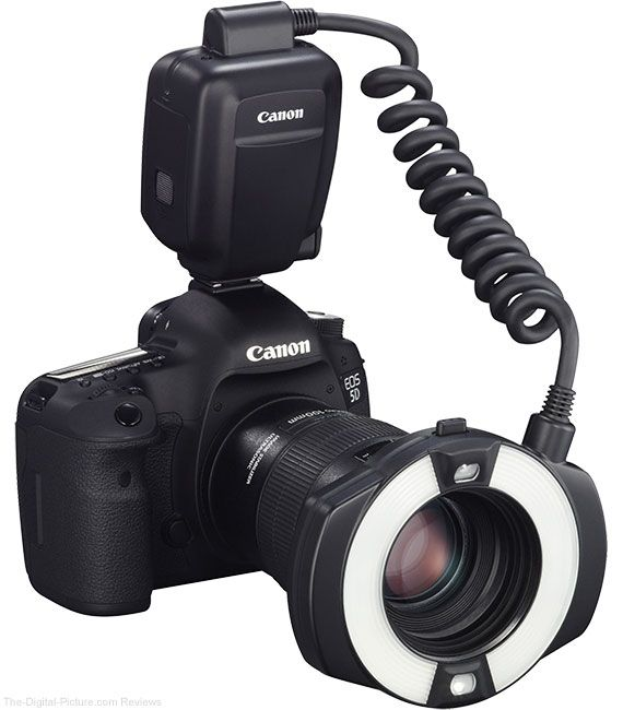 Want this for macro photography.....  Canon Macro Ring Lite MR-14EX II Flash On Camera