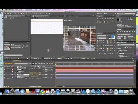 Camera Projection - After Effects - Part 1