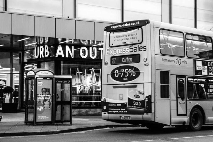 Nottingham, UK - urban photography, street photography, street style, canon camera, black and white photography, vintage look photography, gritty photography, city photography, the midlands photography, british street photography, britain, best of britain, realism, realist photography. #urbanphotography #canoncameras